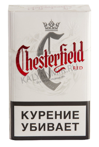 Купить Сигареты CHESTERFIELD Red Смола 10 мг/сиг, Никотин 0,7 мг/сиг, СО 10 мг/сиг.