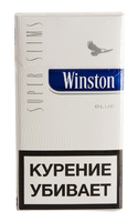 Сигареты WINSTON Super Slim Blue