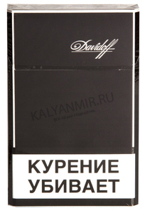 Купить Сигареты DAVIDOFF Blaсk Super Slims Refine