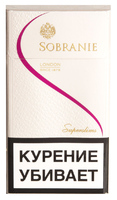 Сигареты SOBRANIE Super Slims White