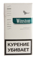 Сигареты WINSTON Super Slims Fresh Menthol