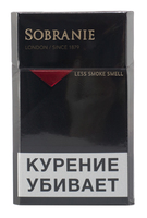 Сигареты SOBRANIE Black London
