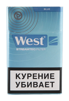 Сигареты WEST Blue Streamtec Filter