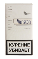 Сигареты WINSTON Super Slims White
