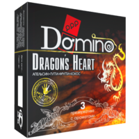 Презервативы DOMINO PREMIUM Dracon's Heart
