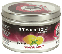 Табак STARBUZZ  250 г лимон и мята (Exotic Lemon Mint)