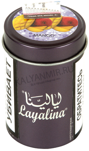 Купить Табак LAYALINA GOLDEN 50 г mango (манго)