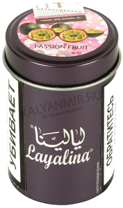 Купить Табак LAYALINA GOLDEN 50 г passion fruit (маракуйя)