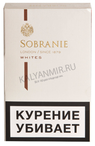 Купить Сигареты SOBRANIE KS Mini Super Slims White