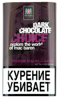 Табак для самокруток МАК БАРЕН 40 г Dark Chocolate (Темный Шоколад)