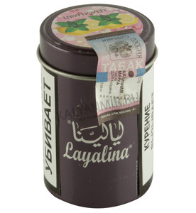 Купить Табак LAYALINA GOLDEN 50 г lemon mint (лимон мята)