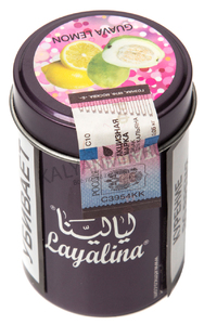 Купить Табак LAYALINA GOLDEN 50 г guava lemon (гуава лимон)