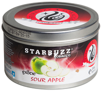 Табак STARBUZZ  250 г яблоко кислое (Exotic Sour Apple)
