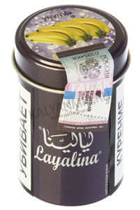 Купить Табак LAYALINA GOLDEN 50 г banana (банан)