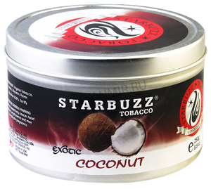 Купить Табак STARBUZZ  250 г кокос (Exotic Coconut)