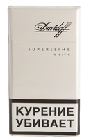 Сигареты DAVIDOFF White Super Slims