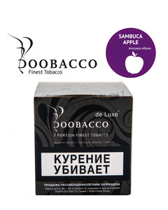 Купить Табак для кальяна Doobacco de Luxe 40 г Яблоко анисовое (Sambuca Apple)