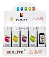 Зажигалка LUXLITE X7 WP APPLE WHITE