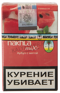 Купить Табак NAKHLA MIX 50 г арбуз с мятой