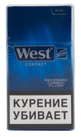Сигареты WEST Compact Blue