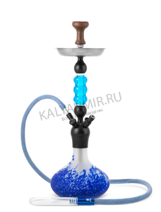 Купить Кальян KAYA PNX 590 Frosted Blue Nest GS Coated (cool belly) на 2 трубки