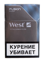 Сигареты WEST Fusion Silver