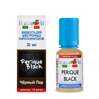 Жидкость FLAVOUR ART 20 мл 12 мг Tabacco Perique Black (Чёрный пар)