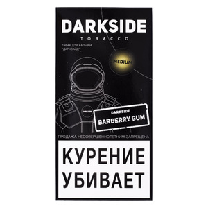 Купить Табак DARK SIDE Medium 250 г Barberry Gum