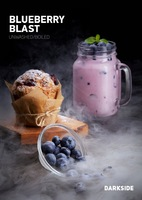 Табак DARK SIDE Soft 100 г Blueberry Blast