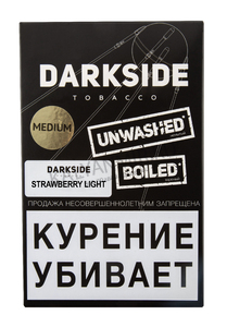 Купить Табак DARK SIDE Medium 100 г Strawberry light