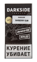 Табак для кальяна DARK SIDE Soft 250 г Barberry Gum