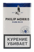 Сигареты PHILIP MORRIS Dark Blue