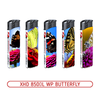 Зажигалки пьезо XHD 8500L WP BUTTERFLY