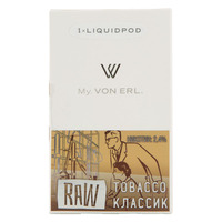 1 картридж для MY VON ERL Raw Tobacco (Классик) 1.6мл 24мг