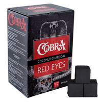 Уголь COBRA Red Eyes Big 1 кг 72 брикета