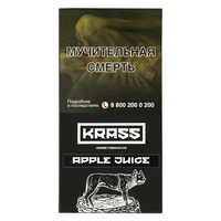 Табак KRASS L-Line 100 г Apple Juice (Яблочный сок)